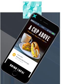 Caffeine Fiend Rewards Smartphone App