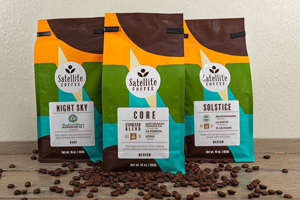 Satellite Roasted Coffee Beans by the bag
